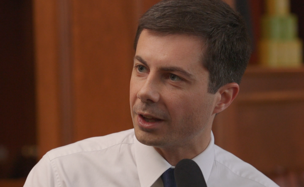Pete Buttigieg, the mayor of South Bend., Ind., and Democratic presidential candidate, sat down with Scott Simon for NPR's Off Script interview series.