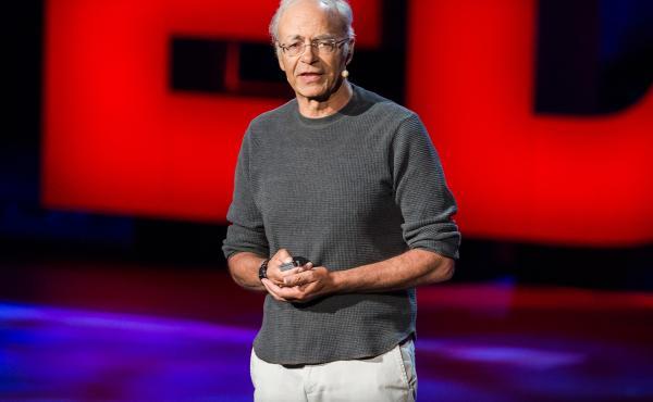 Peter Singer speaks at TED2013.