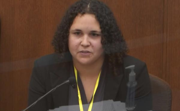 Breahna Giles, a forensic scientist with the Minnesota Bureau of Criminal Apprehension testified on Wednesday in the murder trial of former police officer Derek Chauvin in the death of George Floyd.