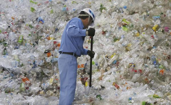 By one estimate, emissions from producing and incinerating plastics could amount to 56 gigatons of carbon — almost 50 times the annual emissions of all of the coal power plants in the U.S. — between now and 2050.