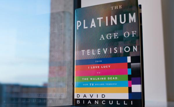 The Platinum Age of Television by David Bianculli (Raquel Zaldivart/NPR)