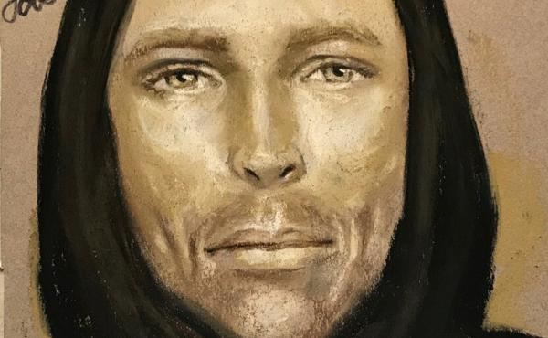 This sketch provided by the Harris County Sheriff's Office in Houston, Texas, shows an artist's rendition of the suspect in the fatal shooting of 7-year-old Jazmine Barnes on Sunday in Houston.