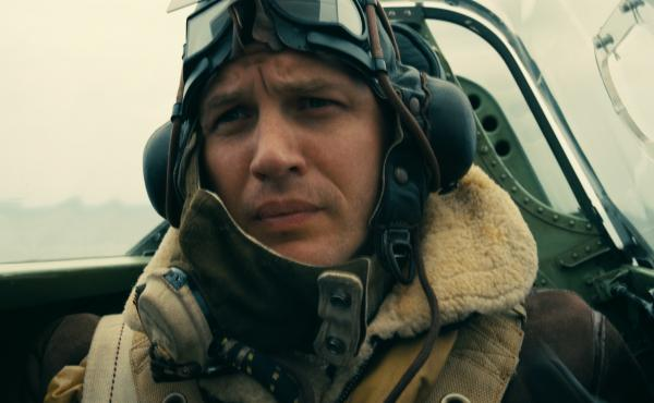 Tom Hardy plays a Royal Air Force pilot in the new Christopher Nolan film Dunkirk.