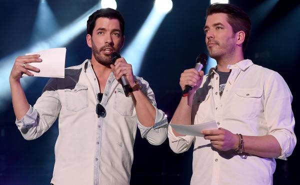 Hosts Jonathan Scott and Drew Scott of HGTV's Property Brothers speak onstage during CMA Festival on June 10, 2016.