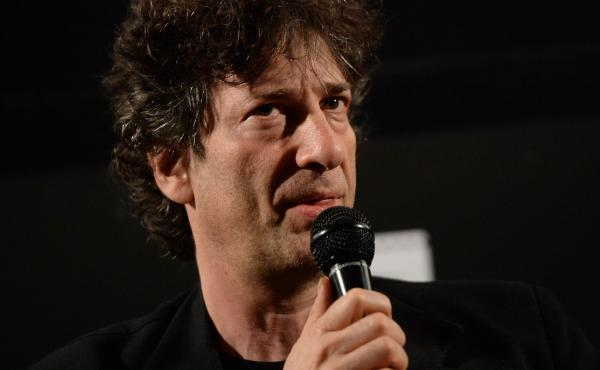 Writer Neil Gaiman attends a screening of Coraline during the Entertainment Weekly CapeTown Film Festival at the Egyptian Theatre on May 5, 2013.