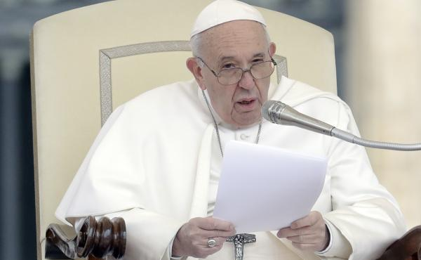 Pope Francis, pictured earlier this week, unveiled a new mandatory-reporting edict on Friday. It requires any Vatican official who learns of an allegation of abuse within the city-state or by Vatican officials to report it to Vatican prosecutors.