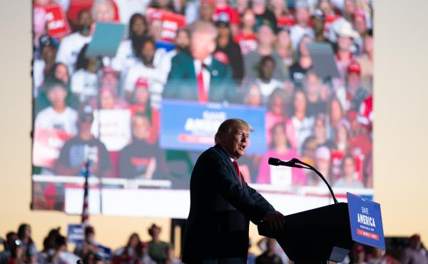 Former President Donald Trump has been hinting at another White House run and, in doing so, has frozen the Republican field.