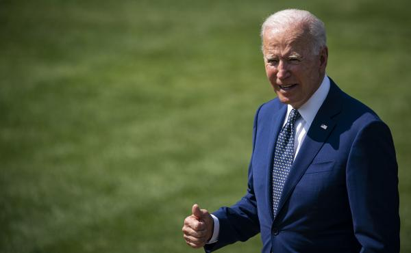 President Biden praised Team USA athletes on a video call on Saturday that included special shoutouts to gymnast Simone Biles and swimmer Katie Ledecky.