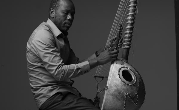 Malian kora player Ballaké Sissoko.