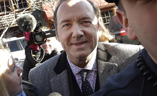 Massachusetts prosecutors dropped criminal charges against actor Kevin Spacey on Wednesday. The Oscar-winner was accused of groping an 18-year-old man at a restaurant in 2016. Spacey is seen outside the courthouse in January.