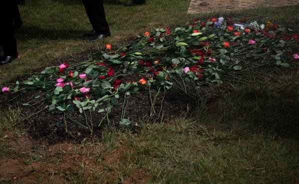 """Psychologist Christy Denckla says funerals and related rituals are """"fundamental to how we mourn, to how we grieve, to how we reinforce social ties."""""""