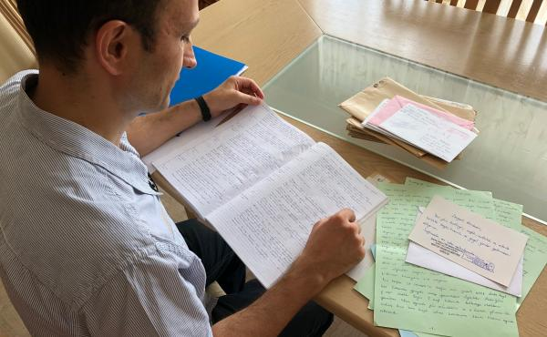 Former Turkish naval officer Cafer Topkaya, purged from his NATO job and jailed for more than a year, looks back through diary entries he made while in Sincan prison near Ankara. Topkaya escaped Turkey while on conditional release from prison and returned