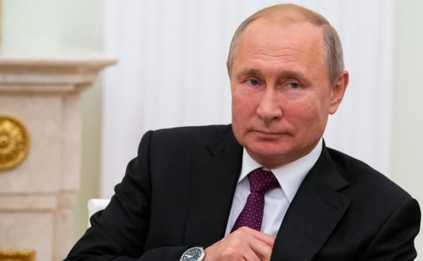 Russian President Vladimir Putin, shown here at the Kremlin in Moscow on Thursday, said on Friday that Russia should respond in kind to the testing of a new U.S. cruise missile.