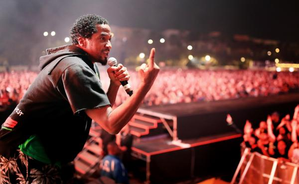 Q-Tip of A Tribe Called Quest performs onstage at FYF Fest in July in Los Angeles.