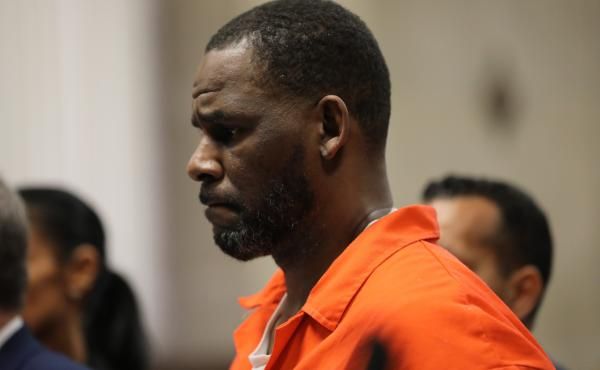 R. Kelly appears during a hearing at the Leighton Criminal Courthouse in Chicago in September 2019.
