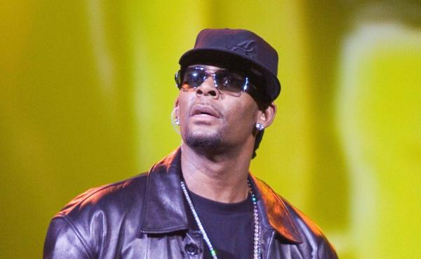 R&B singer R. Kelly was indicted on 10 counts of aggravated criminal sexual abuse on Feb. 22. In this photo, he performs in Atlantic City, N.J., on April 9, 2006.