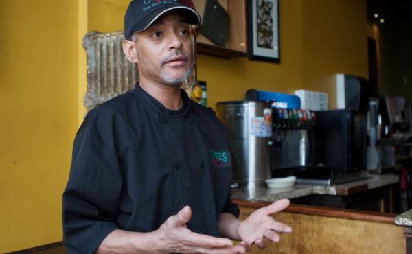 "Chef Ari Coleman calls the news that two top Virginia politicians have dressed in blackface ""not acceptable"" and ""ridiculous."""