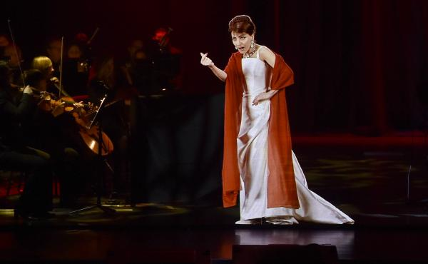 A hologram of the legendary soprano Maria Callas is currently touring North America and Europe.