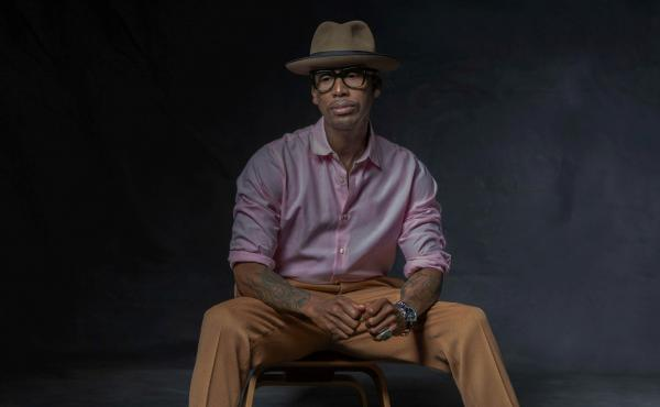 """I feel like people are not educated at a young age to know like, 'OK, you have a choice to go behind bars and become a number and for somebody to profit off you for free labor and it's enslaving your brain,"" Raphael Saadiq says."