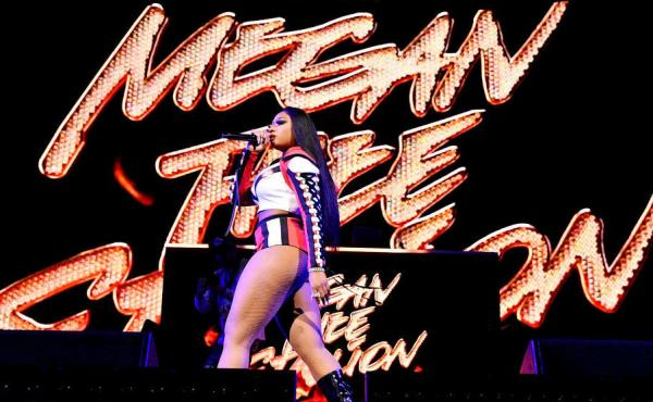 Rapper Megan Thee Stallion, performing in Miami in January.