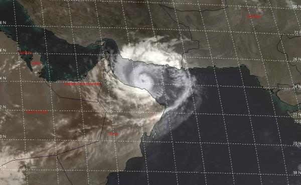 Tropical cyclone Shaheen reached Oman's coast in the early hours of Sunday morning. State officials have encouraged coastal residents to evacuate and all flights to and from the country's capitol, Muscat, have been suspended.