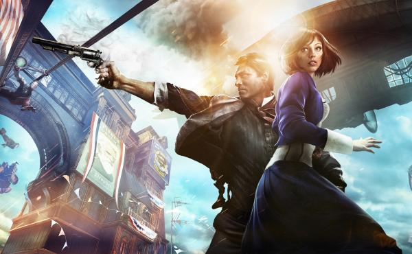 In Bioshock Infinite, a simple premise — a guy, a girl, a gun — animates a mind-bending story.