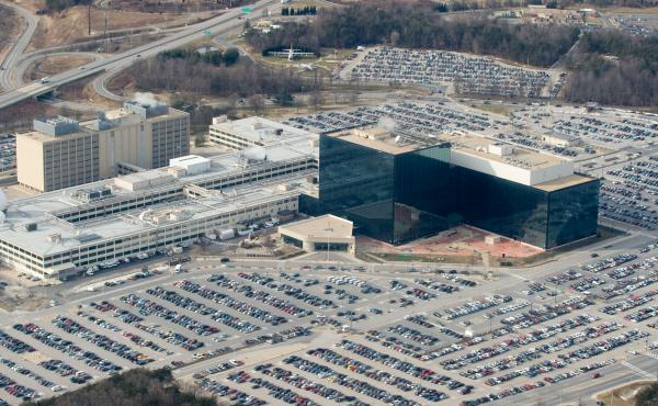 The National Security Agency headquarters at Fort Meade, Md. Winner worked in the Georgia office of contractor Pluribus International.