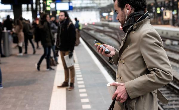 """Dutch Railways began """"Heartbeats,"""" a program to connect strangers who had met on trains, in the 1990s. It started with messages printed out on free train magazines before the railway moved Heartbeats online in 2008."""