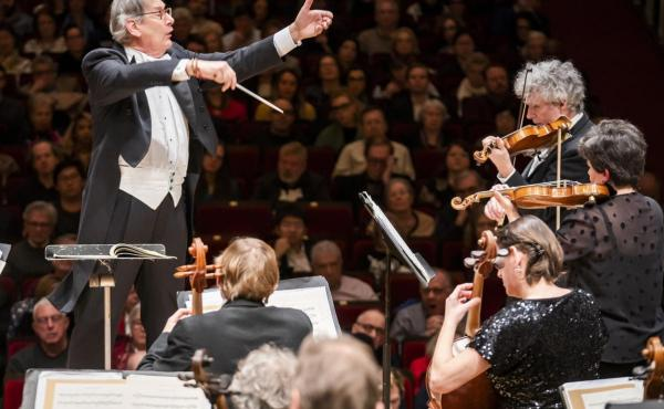 Sir John Eliot Gardiner and the Orchestre Révolutionnaire et Romantique are performing all nine of Beethoven's symphonies in a series of concerts celebrating the composer's 250th birthday.