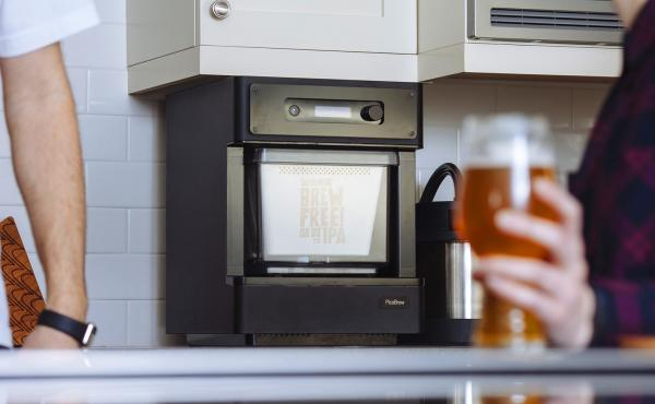 """The Pico C is an automated beer-brewing device, or """"beerbot,"""" that can be monitored remotely from a smartphone or tablet."""