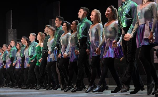 The current production of Riverdance was updated for its 25th anniversary. But performances have been postponed for the rest of the month because of the coronavirus pandemic.