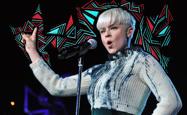 Robyn performs at Radio City Music Hall in 2011.