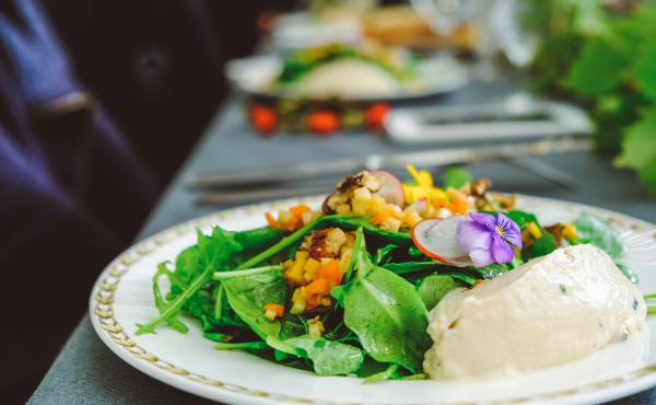 Lunch clubs are becoming a popular trend in offices as a way for co-workers to brighten each other's days by sharing meals they've prepared for one another. They might eat together or at their own separate desks.