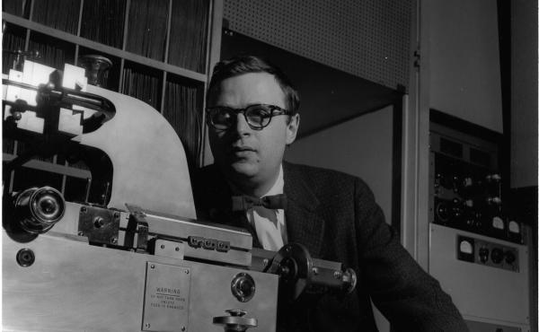 Rudy Van Gelder used his parents' living room in Hackensack, N.J., as his recording studio in the mid-1950s.