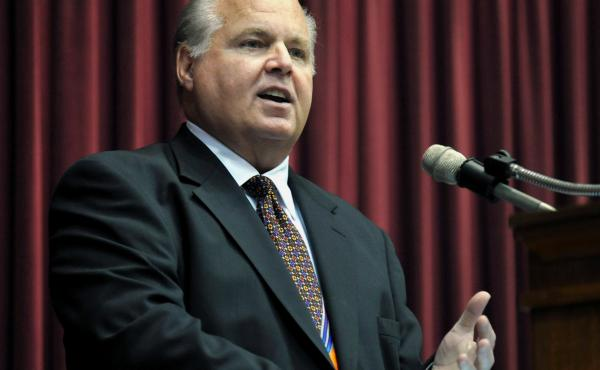 Radio host Rush Limbaugh says he's been diagnosed with advanced lung cancer.