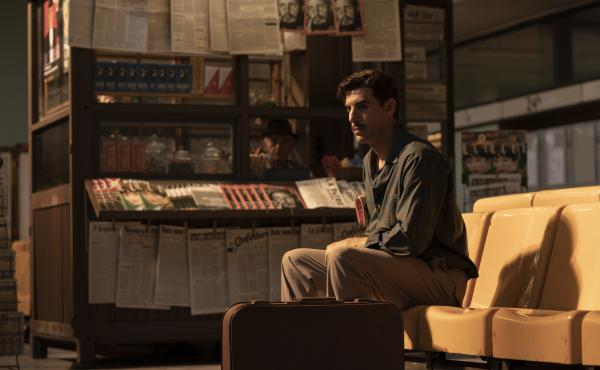 In The Spy, based on the true story of Israeli agent Eli Cohen, comic actor Sacha Baron Cohen takes on a serious role, playing the title character.