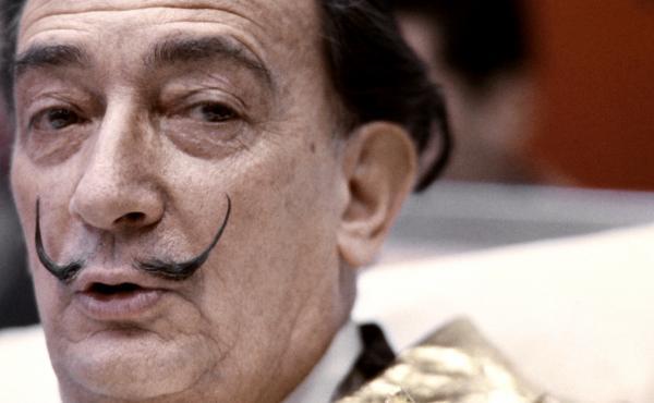 Salvador Dali in 1971.