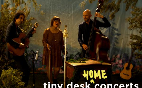 Sara Watkins performs a Tiny Desk (home) concert.