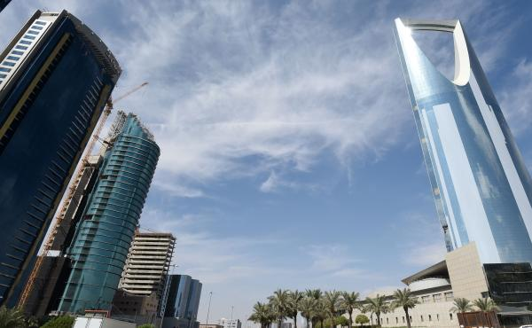 The Saudi capital, Riyadh, seen last month.