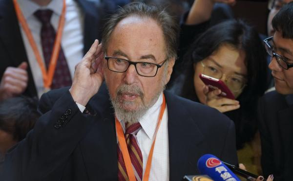 American biologist David Baltimore criticized a fellow scientist who claims he has edited the genes human embryos during the Second International Summit on Human Genome Editing at the University of Hong Kong.