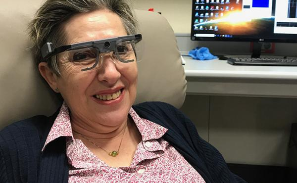 Former science teacher Berna Gómez played a pivotal role in new research on restoring some sight to blind people. She is named as a co-author of the study that was published this week.
