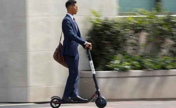 Electric scooters for rent are popping up in San Diego and other cities. Investors see a key role for them in getting from here to there. But many people find them downright annoying.