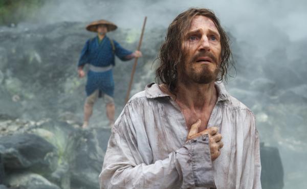 Liam Neeson is Father Ferreira in Martin Scorsese's Silence.