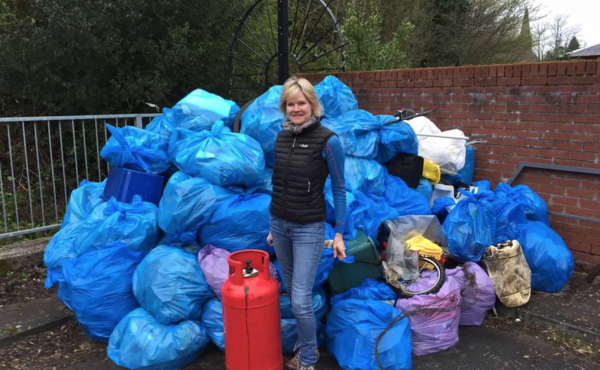 Sally Cogley won her political party's first seat in Scotland. She is part of The Rubbish Party, and her platform was indeed focused on literal rubbish.