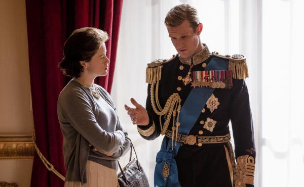 The first three episodes of The Crown's new season focus on turmoil in the royal marriage between Elizabeth (Claire Foy) and her husband, Philip (Matt Smith).