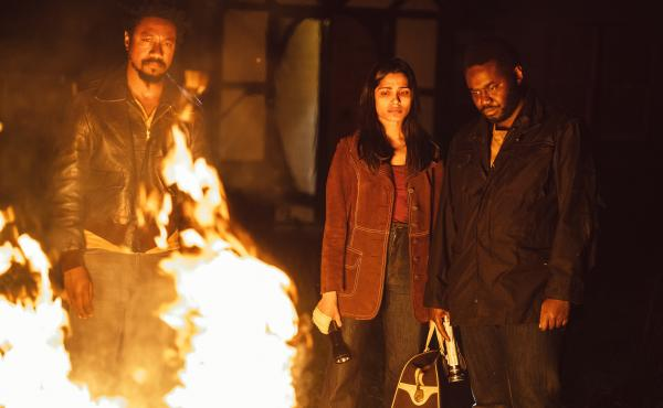 Nathaniel Martello-White, Freida Pinto and Babou Ceesay star in John Ridley's new series Guerilla. The show explores the way humiliation and marginalization can lead to violence.