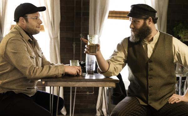Seth Rogen stars alongside ... well, Seth Rogen, in the HBO Max movie An American Pickle.