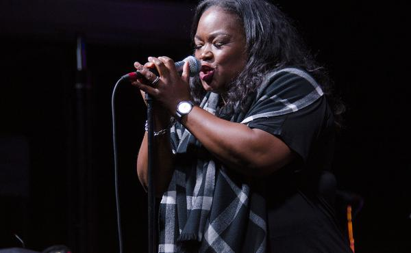 Blues singer Shemekia Copeland performs live for Mountain Stage in Charleston, W.Va.