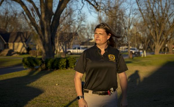 Sgt. Anna Lange filed a lawsuit against the county where she works in Georgia for refusing to allow her health insurance plan to cover gender-affirmation surgery.