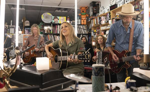 Sheryl Crow performs during Tiny Desk Fest, on Oct. 29, 2019.